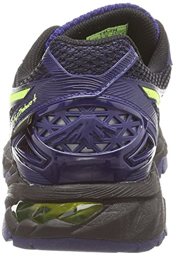 Asics Gel-fujitrabuco 4 G-tx, Herren Traillaufschuhe, Schwarz (black/flash Yellow/indigo Blue 9007), 43.5 EU - 2