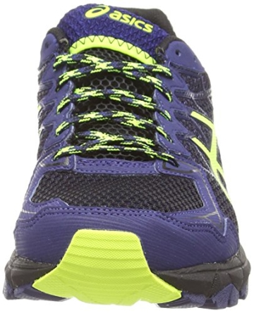 Asics Gel-fujitrabuco 4 G-tx, Herren Traillaufschuhe, Schwarz (black/flash Yellow/indigo Blue 9007), 43.5 EU - 4