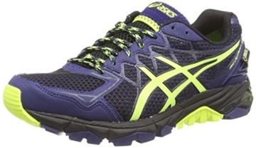 Asics Gel-fujitrabuco 4 G-tx, Herren Traillaufschuhe, Schwarz (black/flash Yellow/indigo Blue 9007), 43.5 EU - 1