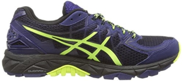 Asics Gel-fujitrabuco 4 G-tx, Herren Traillaufschuhe, Schwarz (black/flash Yellow/indigo Blue 9007), 43.5 EU - 6