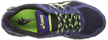 Asics Gel-fujitrabuco 4 G-tx, Herren Traillaufschuhe, Schwarz (black/flash Yellow/indigo Blue 9007), 43.5 EU - 7