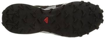 Salomon Speedcross 3 GTX, Herren Traillaufschuhe, Schwarz (Black/Black/Silver  Metallic-X), 44 EU (9.5 Herren UK) - 3