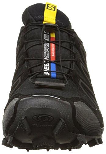 Salomon Speedcross 3 GTX, Herren Traillaufschuhe, Schwarz (Black/Black/Silver  Metallic-X), 44 EU (9.5 Herren UK) - 4
