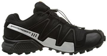 Salomon Speedcross 3 GTX, Herren Traillaufschuhe, Schwarz (Black/Black/Silver  Metallic-X), 44 EU (9.5 Herren UK) - 6