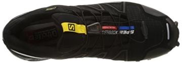 Salomon Speedcross 3 GTX, Herren Traillaufschuhe, Schwarz (Black/Black/Silver  Metallic-X), 44 EU (9.5 Herren UK) - 7